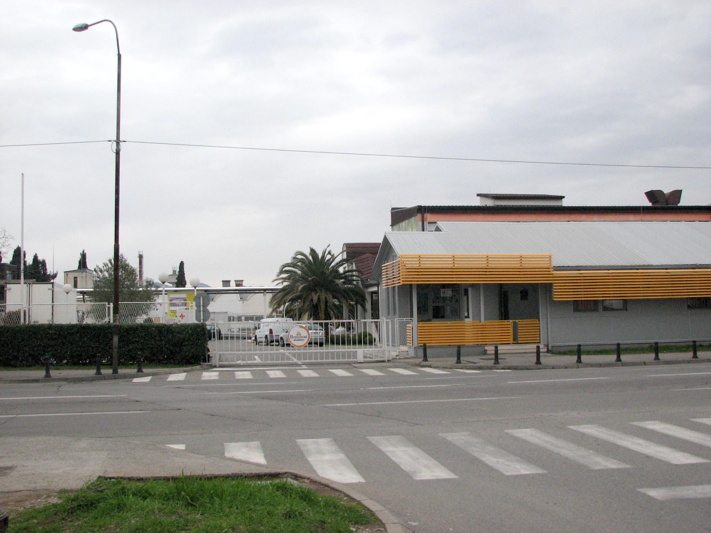 Poslovni objekat ''Hemomont'' u Podgorici