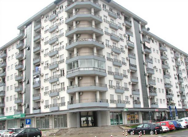 Podzemne garaže objekta na urbanističkim parcelama 2 i 2A u zahvatu DUP-a Blok 35-36