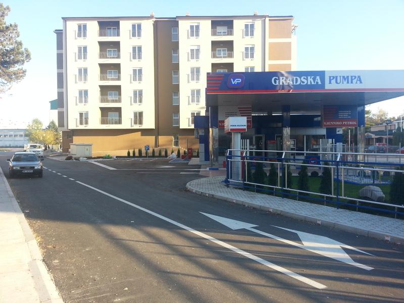 Benzinska stanica sa pratećim sadržajem na U.P. 35, K.P. 2083/1 K.O. Nikšić, DUP Staro pazarište, Opština Nikšić