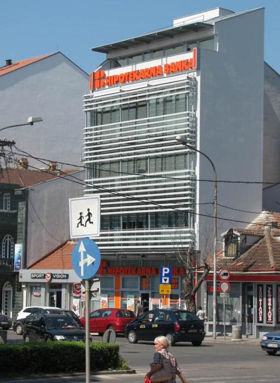Filijala Hipotekarne banke - ul. Slobode, Podgorica